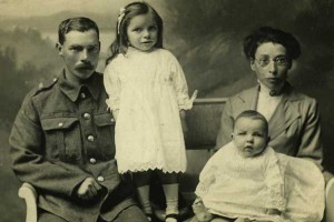 Bem and Rosina Lane with two children