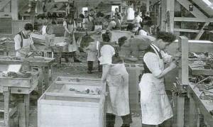 Gordon Russell Workshop 1920s