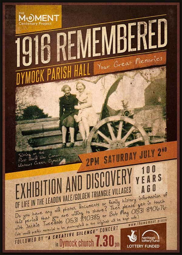 1916 Remembered Event Poster