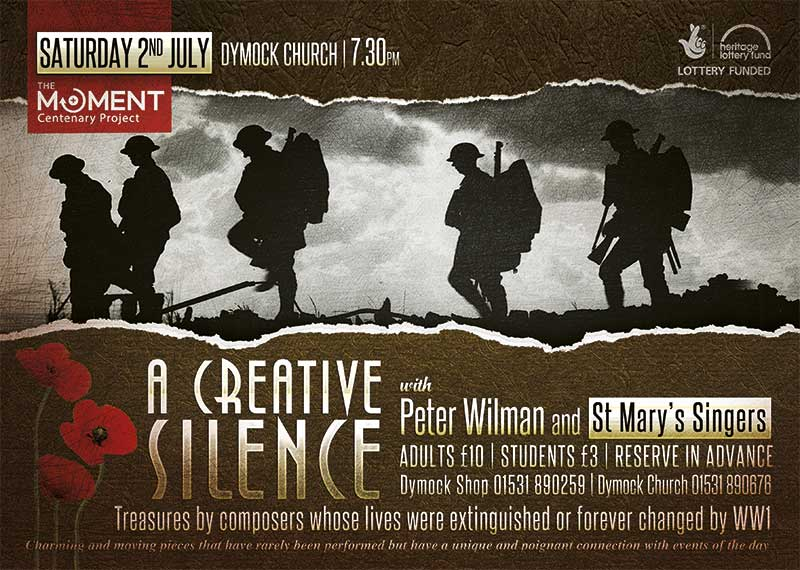 A Creative Silence Event Poster