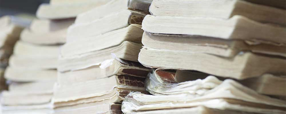 old-documents-stack